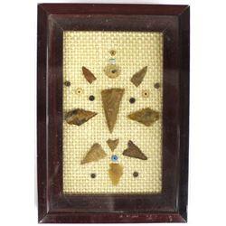 Prehistoric Native American Arrowheads & Beads