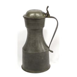 Antique English Pewter Tankard