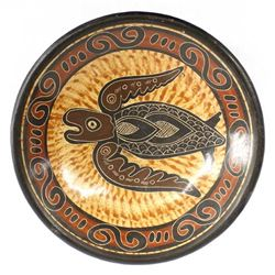 Costa Rican Pottery Dish by Johnny Sanchez