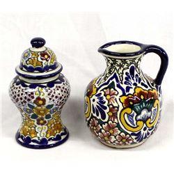 2 Pieces of Talavera Pottery