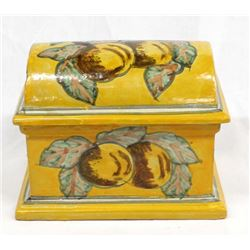 Tlaquepaque Lidded Pottery Box