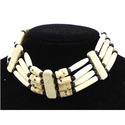 Native American Plains Indian Bone Choker