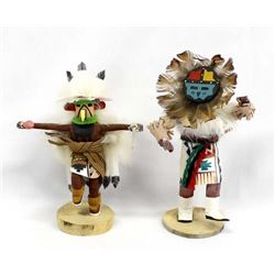 2 Native American Navajo Kachinas