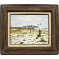 Original Framed Oil by Dorothy Clark