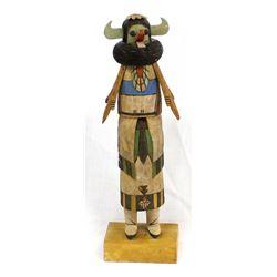 Hopi ''Zuni Shalako'' Kachina by Bobby Kasero
