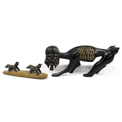 African and Canadian Inuit Carvings