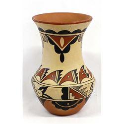 Jemez Pottery Vase by Cecilia Romero