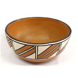 Santo Domingo Pottery Dough Bowl by A.M.T. Lovato