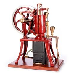 Vintage model hot air engine.