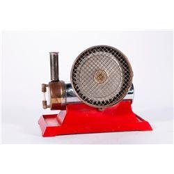 Vintage model turbine.
