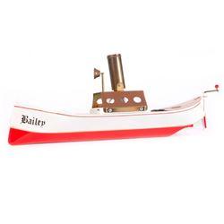 Vintage toy boat.