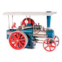 Vintage toy tractor.