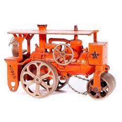 Vintage model steam roller.