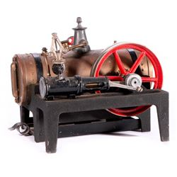 Vintage model steam engine.