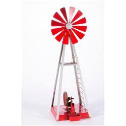 A model windmill.