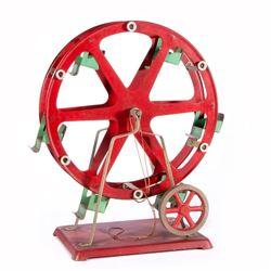 A model ferris wheel.