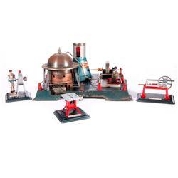 Four Japanese model toys.