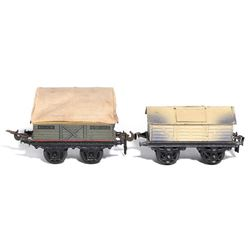 KBN 1 Gauge freight car grouping