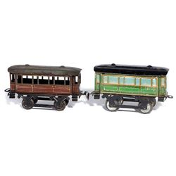 Issmayer O Gauge passenger cars