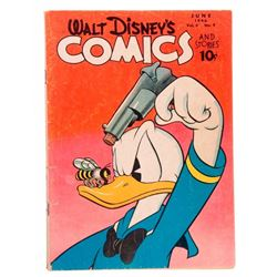 Four Walt Disney's Comics