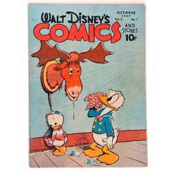 Four Walt Disney's Comics