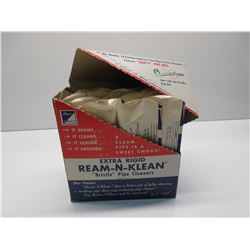 Box of Ream-N-Klean Pipe Cleaners
