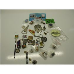 35 Misc. items - pins and other things
