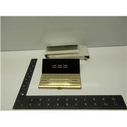 Vintage Pocket Brass Crib Board