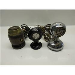 3 Vintage plugin Cigar Lighters