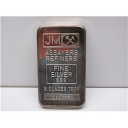 Assayers Refiners 5 Troy Ounces
