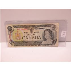 1973 Canadian Dollar