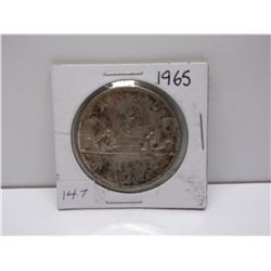 1965 Canadian Silver Dollar