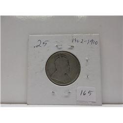 .25 Canadian Quarter - Edward VII