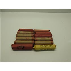 12 Rolls of US Pennys