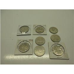 8 Canada Dollar Coins