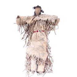 Northern Plains Porcupine Quilled Doll 19th C.
