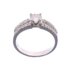 Vintage Estate 1.05 ct Diamond & 14K Gold Ring