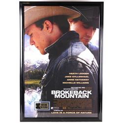Autographed Brokeback Mountain Movie Poster 2005