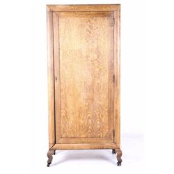 Butte Law Office Quarter Sawn Oak Cabinet c. 1900