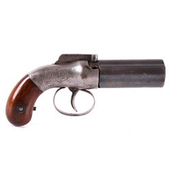 Allen & Thurber .34 Cal Six-Shot Pepperbox Pistol