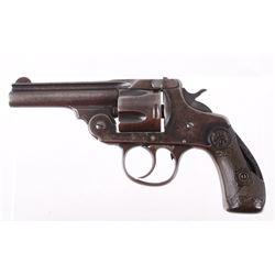 Iver Johnson Top Break .38 CF Side Lock Revolver