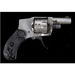 Early Baby Hammerless Folding Trigger Revolver