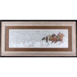 """Signed Bev Doolittle """"Sacred Ground"""" Lithograph"""