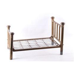 Mid 1900s Salesmen Sample Steel Bed Frame