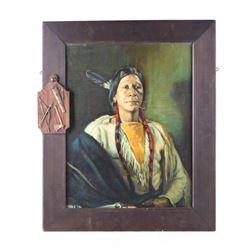 Bert Phillips Native American Indian Print