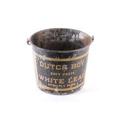 Dutch Boy Strictly Pure White Lead Mining Bucket