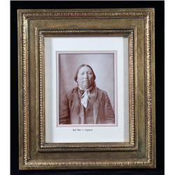 Bull Bear Cheyenne Dog Soldiern Photograph c. 1869