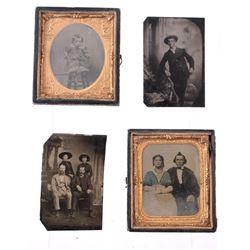 Original Montana Tintype Photographs c 1800s