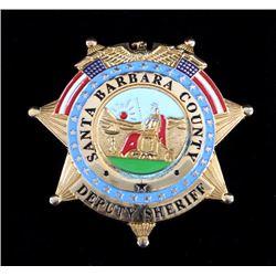Santa Barbara County Deputy Sheriff Badge