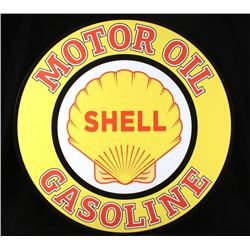 Shell Motor Oil Gasoline Advertising Sign